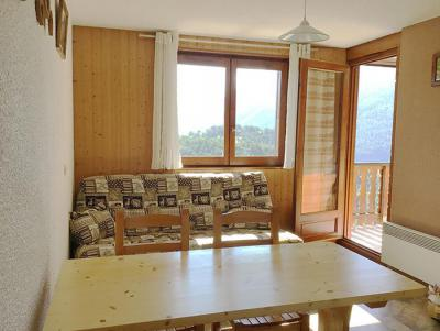 Rent in ski resort 2 room apartment 4 people (19) - Résidence La Corniche - Aussois - Living room