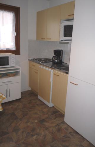 Аренда на лыжном курорте Апартаменты 2 комнат 5 чел. (105) - Résidence La Corniche - Aussois - Небольш&