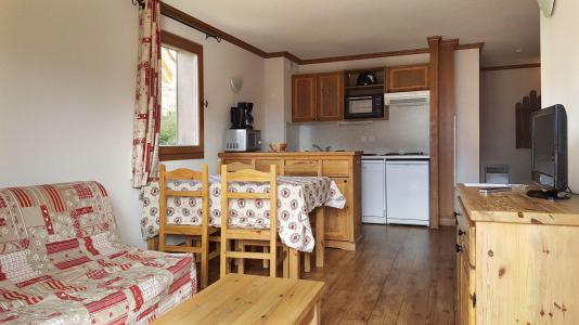 Аренда на лыжном курорте Апартаменты 3 комнат 6 чел. (CA6) - Résidence le Clos d'Aussois - Aussois - Столова&