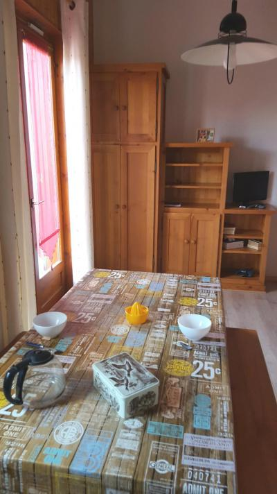 Rent in ski resort Studio 2 people (103) - Résidence Le Genevray - Aussois