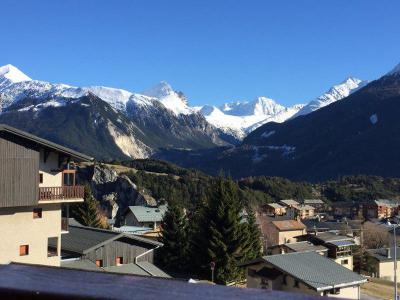 Rent in ski resort 3 room mezzanine apartment 6 people (209) - Résidence Le Genevray - Aussois
