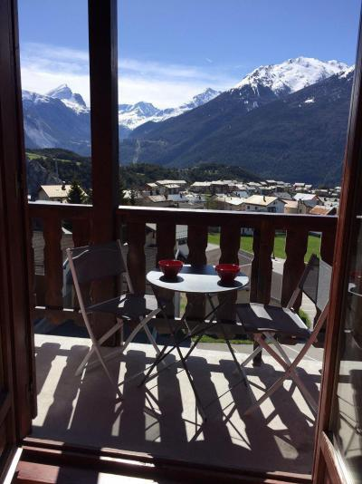 Rent in ski resort 3 room mezzanine apartment 6 people (209) - Résidence Le Genevray - Aussois