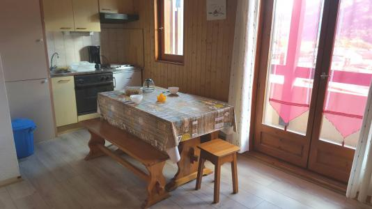 Rent in ski resort Studio 2 people (103) - Résidence Le Genevray - Aussois - Table