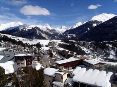 Rent in ski resort 3 room duplex apartment 6 people (201) - Résidence Les Fleurs - Aussois - Bedroom