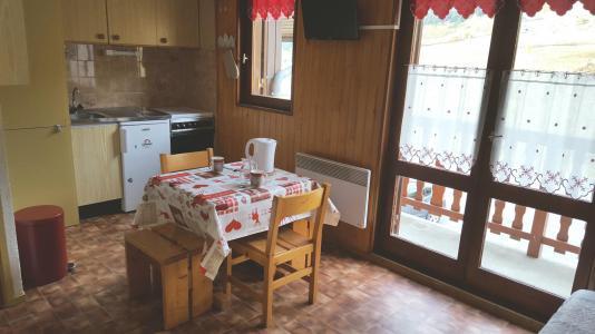 Rent in ski resort Studio 2 people (196) - Résidence Les Fleurs - Aussois
