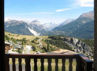Rent in ski resort Studio sleeping corner 4 people (168) - Résidence Les Fleurs - Aussois