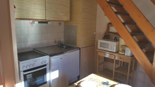 Rent in ski resort 2 room duplex apartment cabin 6 people (65) - Résidence Les Fleurs - Aussois
