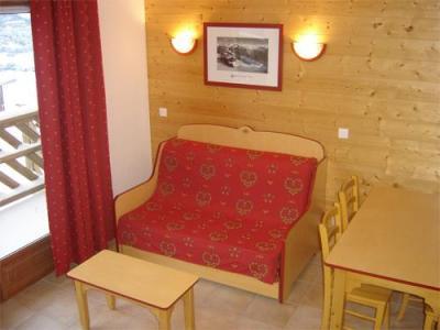 Location au ski Appartement 2 pièces 4 personnes - Residence Les Flocons D'argent - Aussois - Coin séjour
