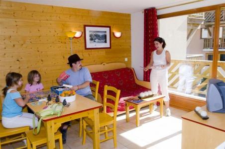 Location au ski Appartement 2 pièces 4 personnes - Residence Les Flocons D'argent - Aussois - Séjour