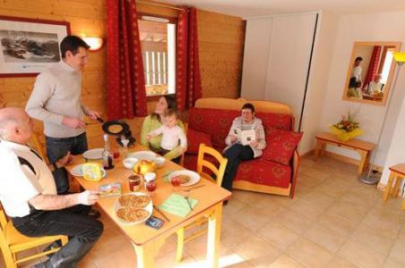 Location au ski Appartement 3 pièces 6 personnes - Residence Les Flocons D'argent - Aussois - Coin repas