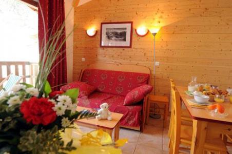 Location au ski Appartement 4 pièces 8 personnes - Residence Les Flocons D'argent - Aussois - Séjour