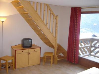 Location au ski Appartement duplex 2 pièces 6 personnes - Residence Les Flocons D'argent - Aussois - Escalier