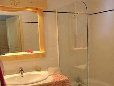 Location au ski Residence Les Flocons D'argent - Aussois - Salle de bains