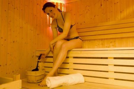 Location au ski Residence Les Flocons D'argent - Aussois - Sauna