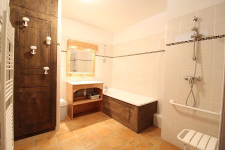 Location au ski Appartement 2 pièces 4 personnes (005) - Résidence les Sports - Aussois - Salle de bains