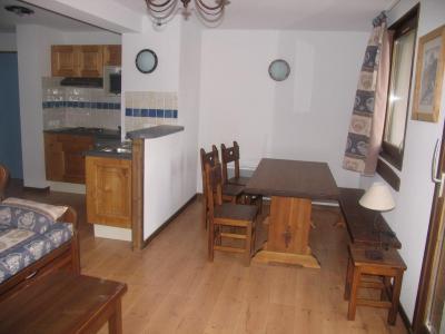 Location au ski Appartement 3 pièces 6 personnes (002) - Residence Les Sports - Aussois - Coin repas