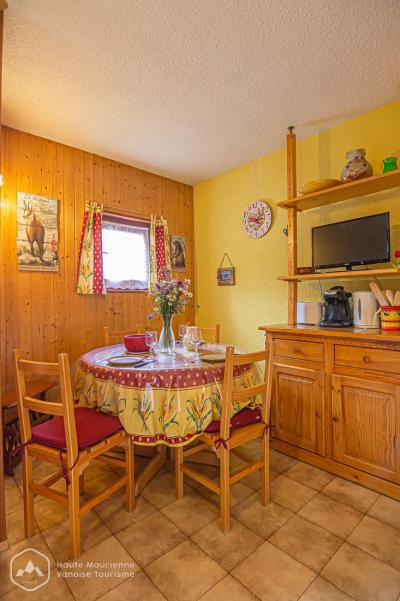 Rent in ski resort Studio sleeping corner 3 people (STS33) - Résidence St Sébastien 1 - Aussois - Winter outside
