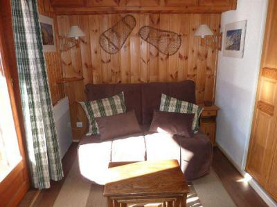 Rent in ski resort Studio sleeping corner 3 people (STS15) - Résidence St Sébastien 1 - Aussois - Bed-settee