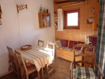 Rent in ski resort Studio sleeping corner 3 people (STS15) - Résidence St Sébastien 1 - Aussois - Table