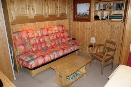 Rent in ski resort Studio sleeping corner 4 people (STS13) - Résidence St Sébastien 1 - Aussois - Living room