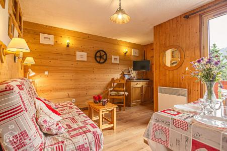 Rent in ski resort Studio sleeping corner 4 people (STS10) - Résidence St Sébastien 2 - Aussois
