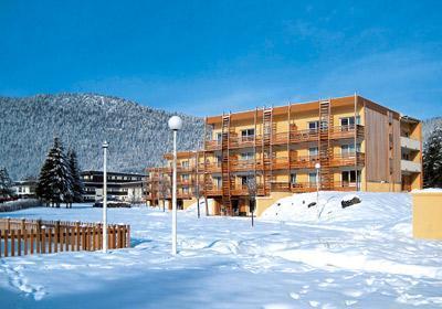 Location au ski Residence Le Sornin - Autrans - Extérieur hiver
