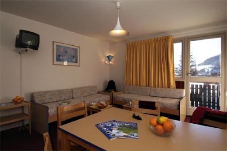 Location au ski Appartement 3 pièces 8 personnes - Residence Le Sornin - Autrans - Coin repas
