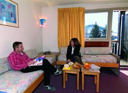 Location au ski Appartement 3 pièces 8 personnes - Residence Le Sornin - Autrans - Coin séjour