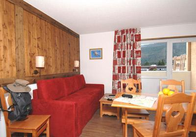 Location au ski Residence Le Sornin - Autrans - Canapé-lit