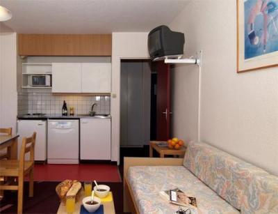 Location au ski Studio 2 personnes - Residence Le Sornin - Autrans - Séjour