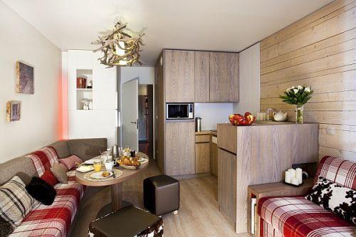 Location au ski Residence Pierre & Vacances Atria Crozats - Avoriaz - Séjour