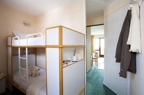 Location au ski Residence Pierre & Vacances Saskia Falaise - Avoriaz - Lits superposés