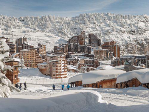 Location au ski Residence Maeva L'hermine - Avoriaz - Extérieur hiver