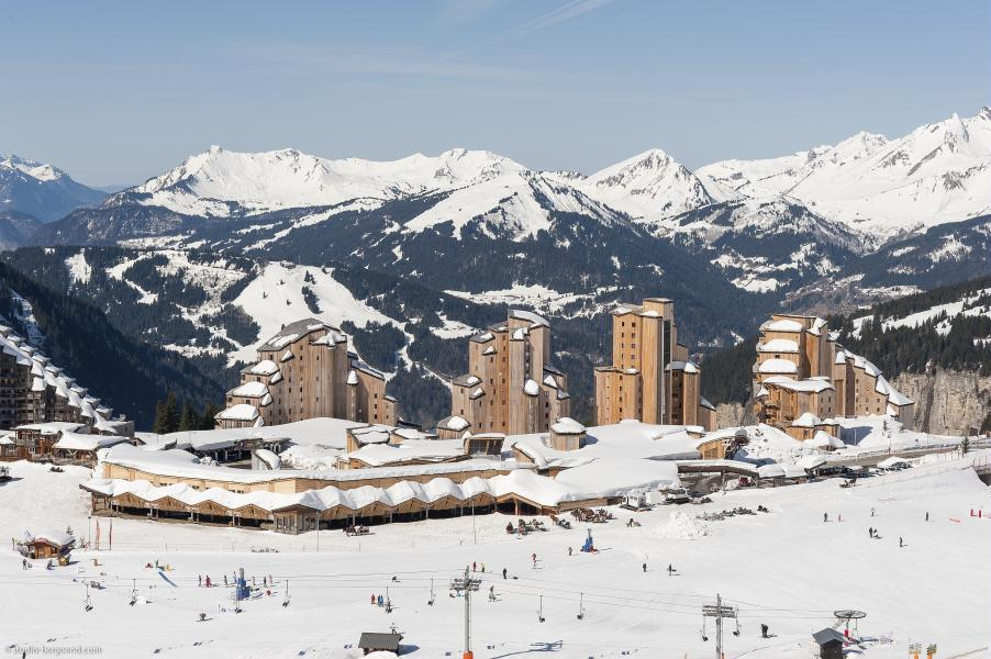 Ski verhuur Résidence P&V Premium l'Amara - Avoriaz - Buiten winter
