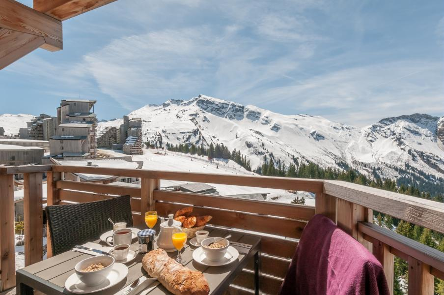 Location au ski Résidence P&V Premium l'Amara - Avoriaz - Extérieur hiver