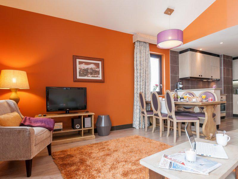 Аренда на лыжном курорте Апартаменты 3 комнат 6 чел. (стандарт) - Résidence P&V Premium l'Amara - Avoriaz