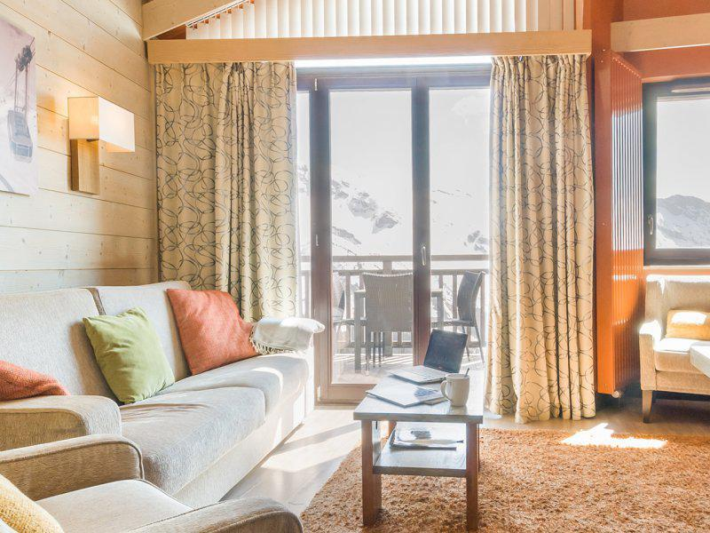 Аренда на лыжном курорте Апартаменты 3 комнат 6 чел. (высший) - Résidence P&V Premium l'Amara - Avoriaz