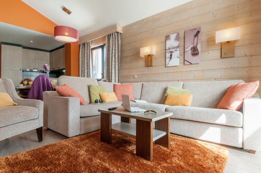 Location au ski Residence P&v Premium L'amara - Avoriaz - Canapé