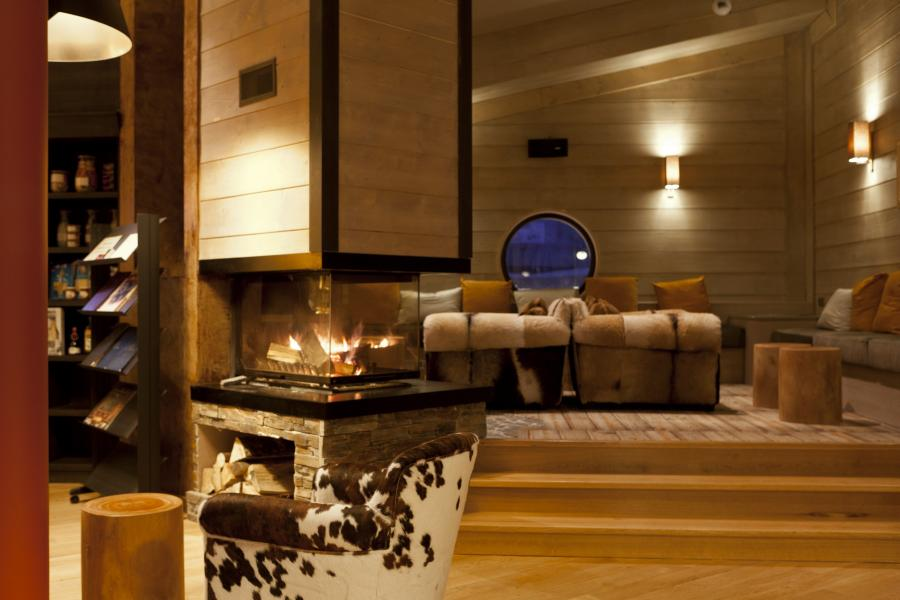 Location au ski Residence P&v Premium L'amara - Avoriaz - Cheminée