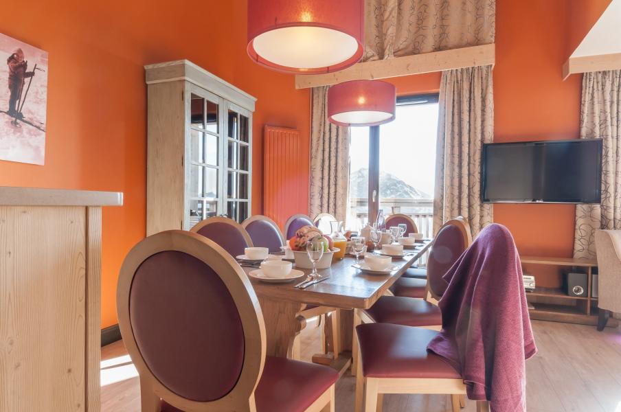 Location au ski Residence P&v Premium L'amara - Avoriaz - Salle à manger