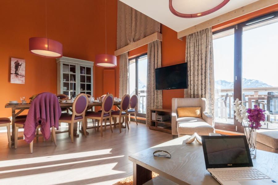 Location au ski Residence P&v Premium L'amara - Avoriaz - Séjour