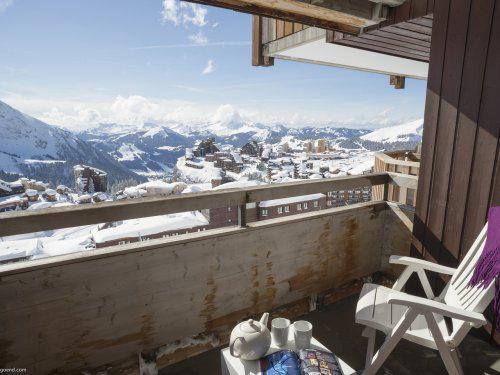 Location au ski Residence Pierre Et Vacances Antares - Avoriaz - Extérieur hiver
