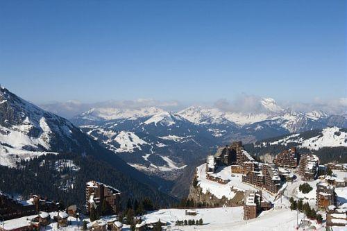 Location au ski Residence Pierre & Vacances Atria Crozats - Avoriaz - Extérieur hiver