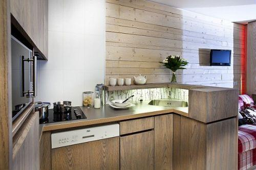 Rent in ski resort Résidence Pierre & Vacances Atria Crozats - Avoriaz - Kitchen