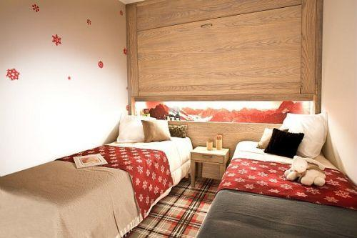 Location au ski Residence Pierre & Vacances Atria Crozats - Avoriaz - Lit simple