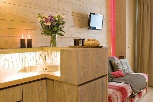 Rent in ski resort Résidence Pierre & Vacances Atria Crozats - Avoriaz - Living room