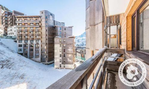 Location au ski Studio 5 personnes (Confort 30m²) - Résidence les Alpages - Maeva Home - Avoriaz - Extérieur hiver