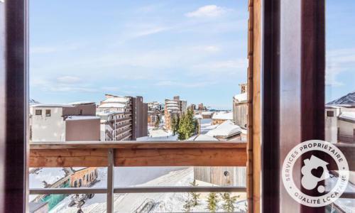 Location au ski Appartement 2 pièces 4 personnes (Budget 25m²) - Résidence les Alpages - Maeva Home - Avoriaz - Extérieur hiver