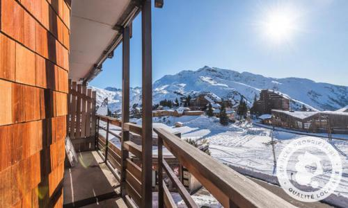 Аренда на лыжном курорте Апартаменты 2 комнат 4 чел. (Sélection 27m²) - Résidence les Fontaines Blanches - Maeva Home - Avoriaz - зимой под открытым небом