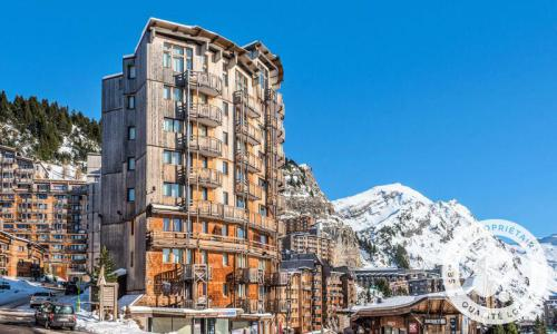 Аренда на лыжном курорте Апартаменты 2 комнат 4 чел. (Sélection 35m²) - Résidence les Fontaines Blanches - Maeva Home - Avoriaz - зимой под открытым небом